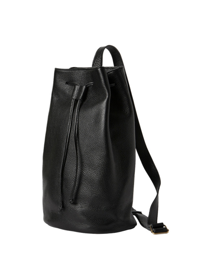 article) single bucket bag - black - 재입고